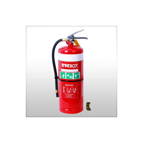 9kg DCP Extinguisher - Hose and Stud - Wall Bracket
