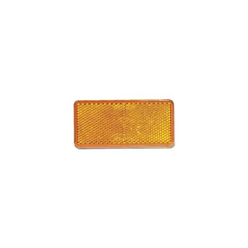 Reflector Self Adhesive Amber