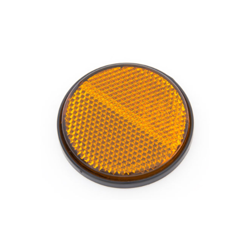 Orange Reflector Cap