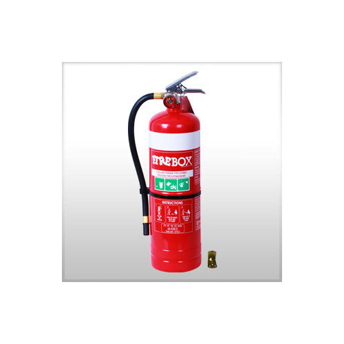 4.5kg DCP Extinguisher - Hose and Stud - Wall Bracket