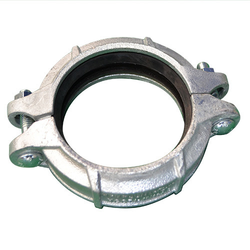 Roll Groove Clamp (Galvanised) - 3 inch